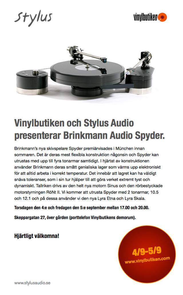 Stylus-vinylbutiken_BrinkmannSpyder
